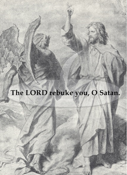 Yahushua rebukes Satan 1