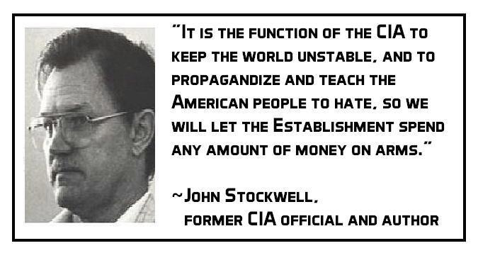 00000000000000000000000 Quote - John Stockwell function of CIA BU